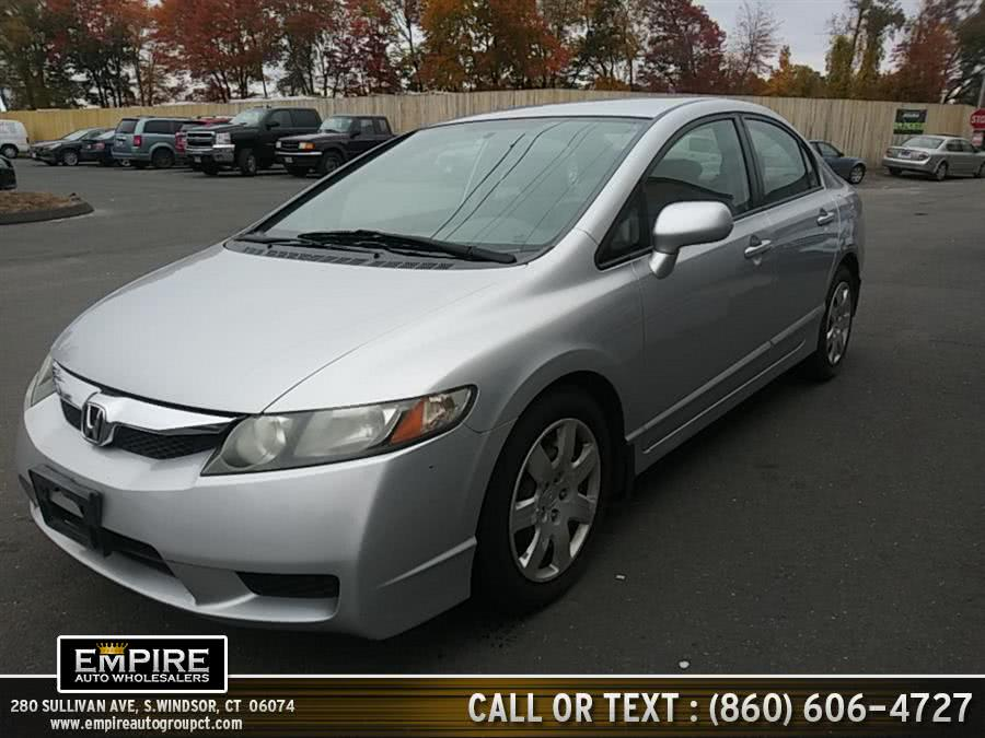Used 2009 Honda Civic Sdn in S.Windsor, Connecticut | Empire Auto Wholesalers. S.Windsor, Connecticut