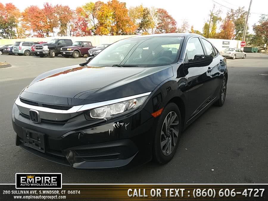 Used 2016 Honda Civic Sedan in S.Windsor, Connecticut | Empire Auto Wholesalers. S.Windsor, Connecticut