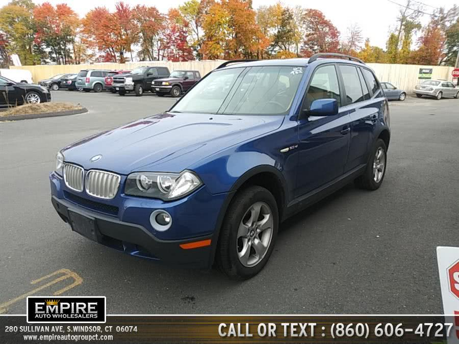 Used 2007 BMW X3 in S.Windsor, Connecticut | Empire Auto Wholesalers. S.Windsor, Connecticut