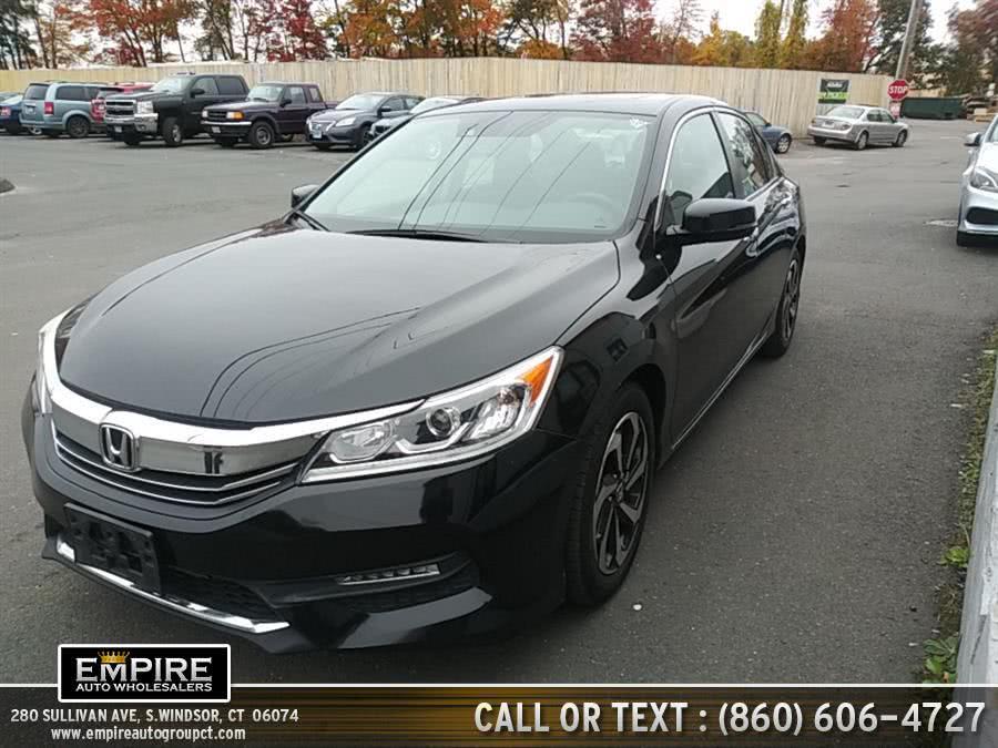 Used 2016 Honda Accord Sedan in S.Windsor, Connecticut | Empire Auto Wholesalers. S.Windsor, Connecticut
