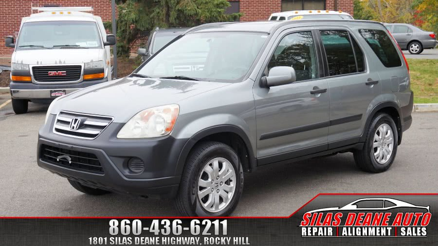 Used Honda CR-V 4WD EX AT 2006 | Silas Deane Auto LLC. Rocky Hill , Connecticut