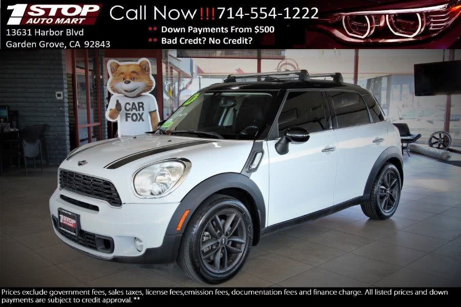 Used 2014 MINI Cooper Countryman in Garden Grove, California | 1 Stop Auto Mart Inc.. Garden Grove, California