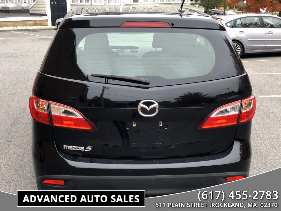 Used Mazda Mazda5 4dr Wgn Auto Sport 2012 | Advanced Auto Sales. Rockland, Massachusetts