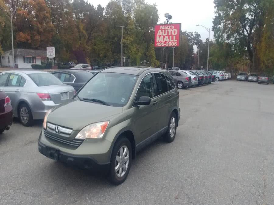 Used Honda CR-V 4WD 5dr EX 2008 | Matts Auto Mall LLC. Chicopee, Massachusetts