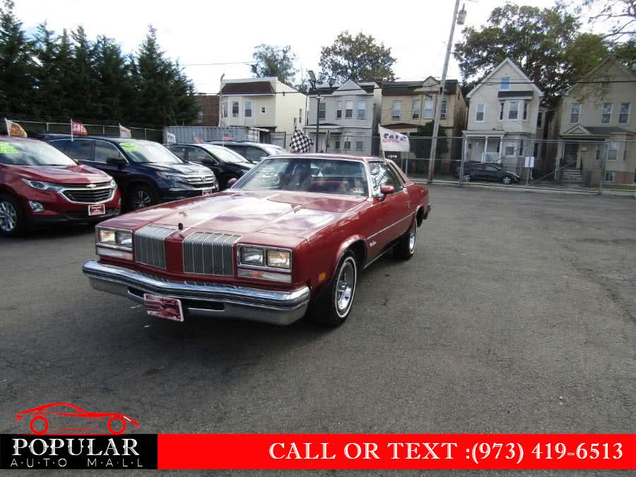 Used 1977 Oldsmobile Cutlass Supreme in Newark , New Jersey | Popular Auto Mall Inc . Newark , New Jersey