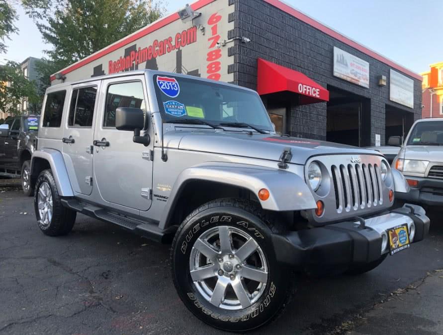 Used 2013 Jeep Wrangler Unlimited in Chelsea, Massachusetts | Boston Prime Cars Inc. Chelsea, Massachusetts