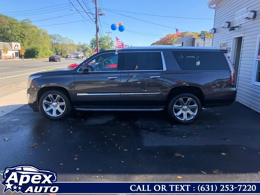 Used Cadillac Escalade ESV 4WD 4dr Luxury 2015 | Apex Auto. Selden, New York