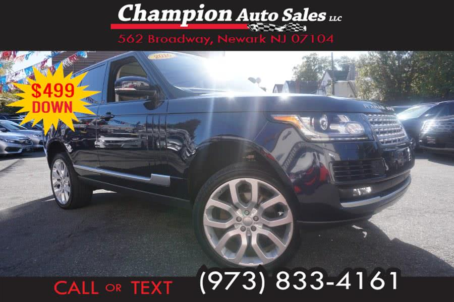 Used 2016 Land Rover Range Rover in Newark , New Jersey | Champion Used Auto Sales 2. Newark , New Jersey
