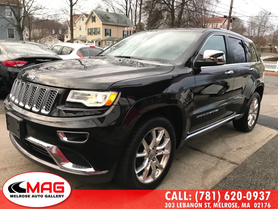 Used Jeep Grand Cherokee 4WD 4dr Summit 2016 | Melrose Auto Gallery. Melrose, Massachusetts