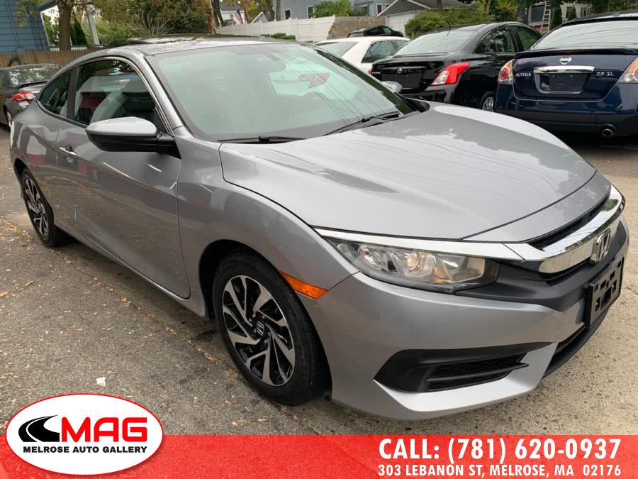 Used 2016 Honda Civic Coupe in Melrose, Massachusetts | Melrose Auto Gallery. Melrose, Massachusetts