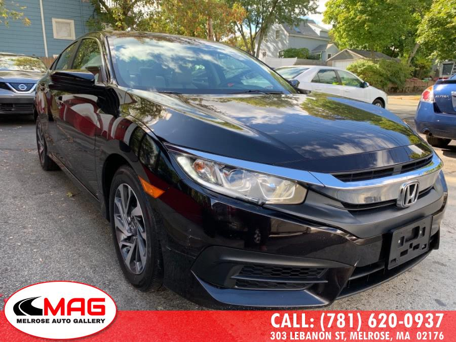 Used Honda Civic Sedan 4dr CVT EX 2016 | Melrose Auto Gallery. Melrose, Massachusetts