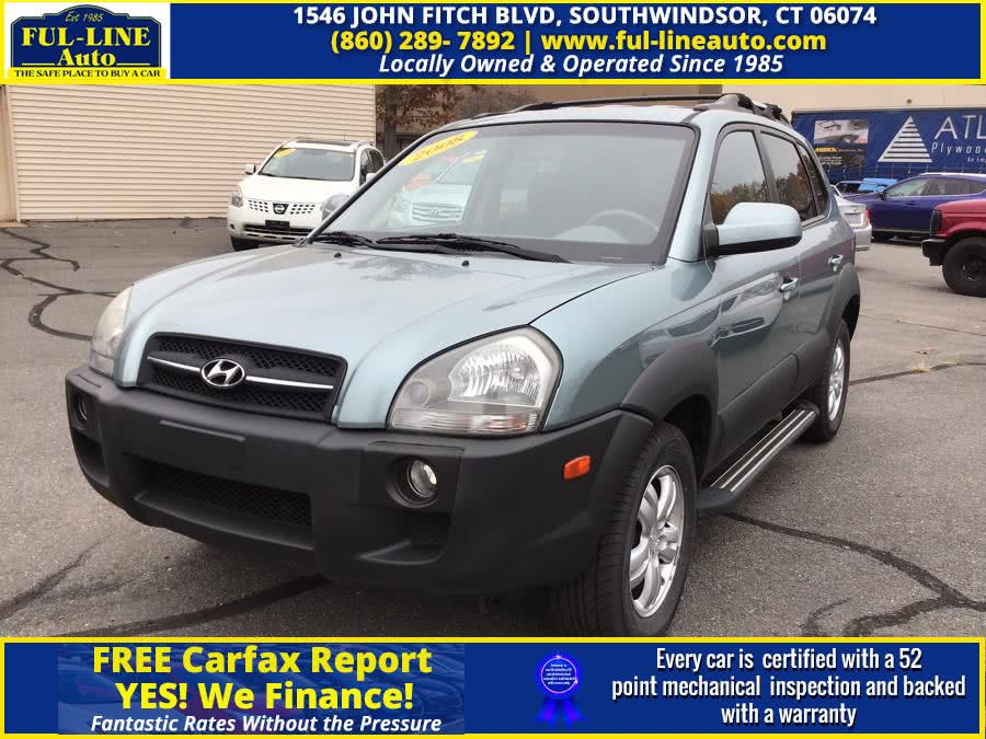 Used Hyundai Tucson 4WD 4dr V6 Auto SE 2008 | Ful-line Auto LLC. South Windsor , Connecticut