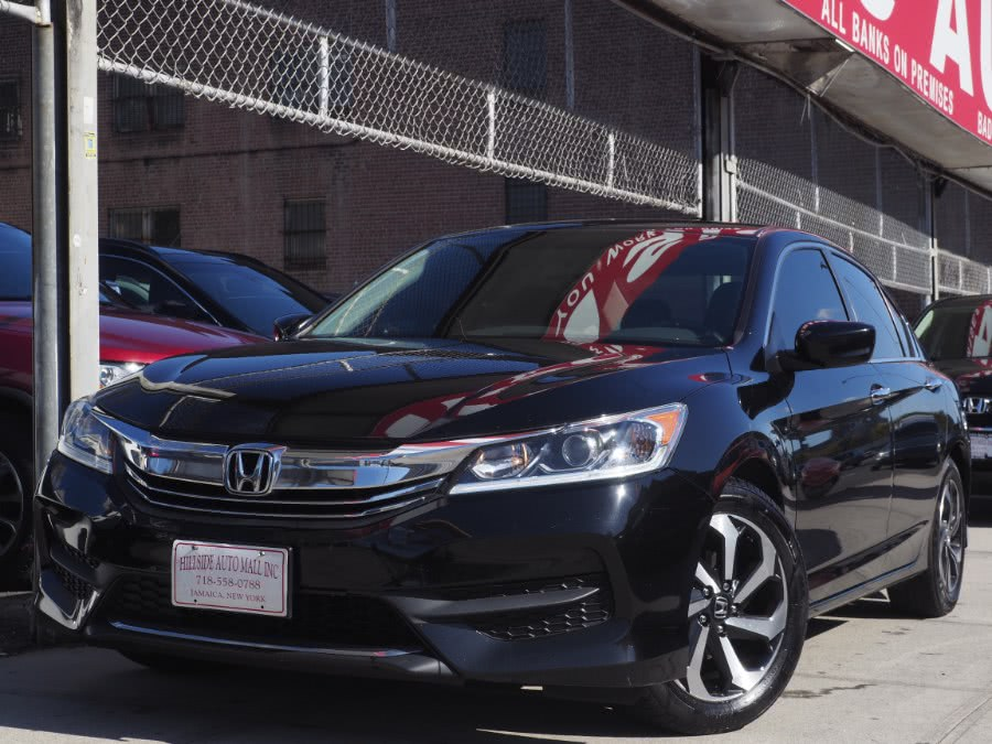 2017 Honda Accord Sedan LX CVT, available for sale in Jamaica, New York | Hillside Auto Mall Inc.. Jamaica, New York