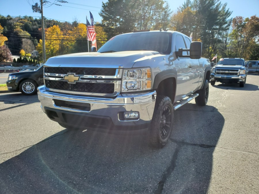 """2011 Chevrolet Silverado 2500HD 4WD Ext Cab 144.2"""" LT, available for sale in Thomaston, CT"""