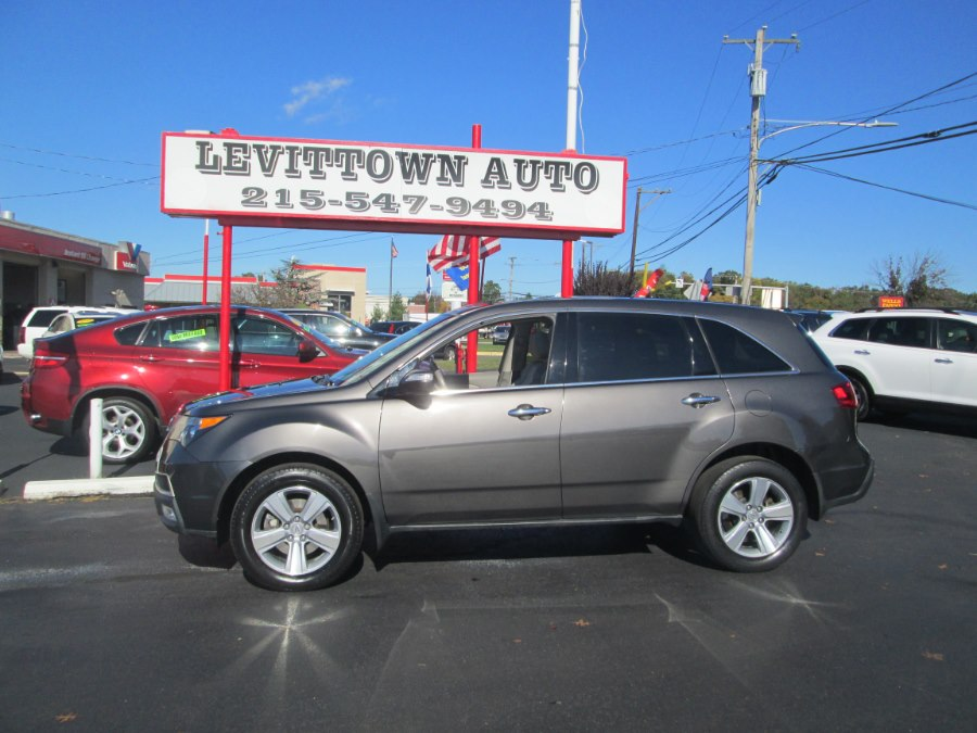 2012 Acura MDX AWD 4dr Tech Pkg, available for sale in Levittown, Pennsylvania | Levittown Auto. Levittown, Pennsylvania