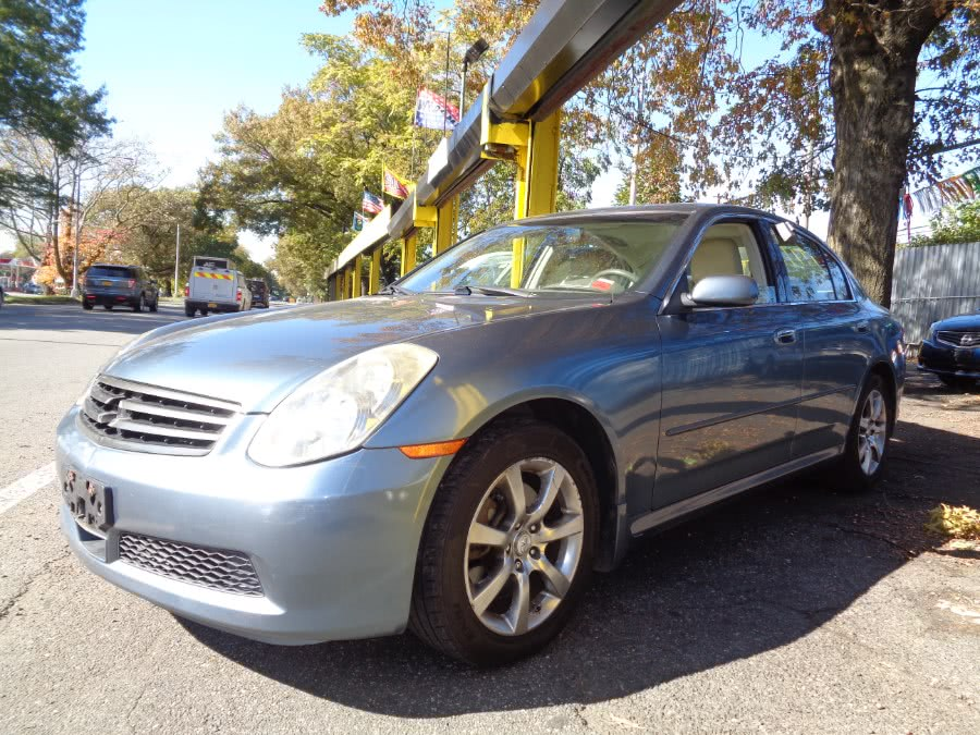 Used 2006 Infiniti G35 Sedan in Rosedale, New York | Sunrise Auto Sales. Rosedale, New York