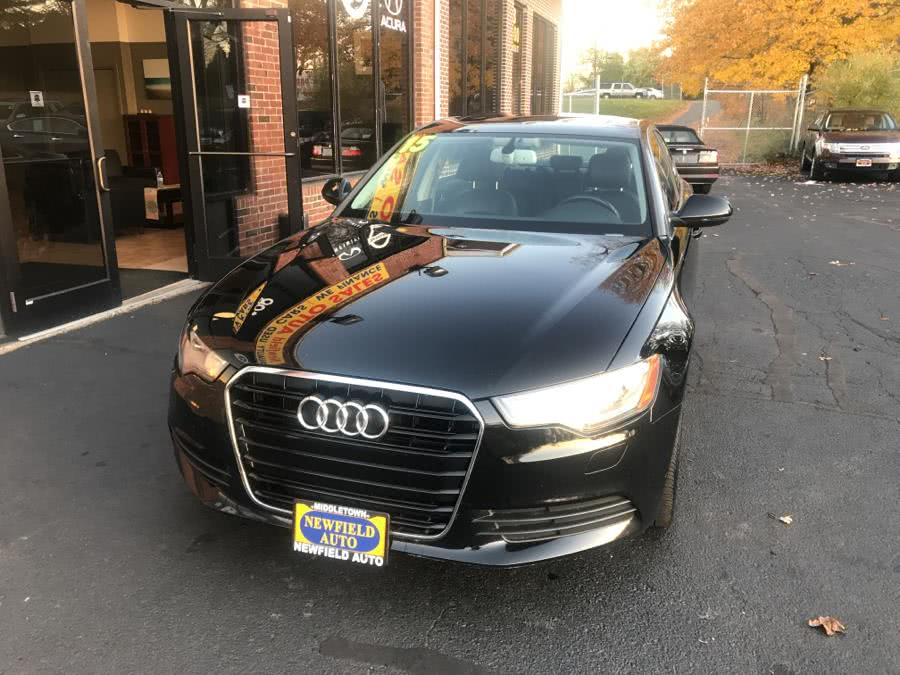 Used 2015 Audi A6 in Middletown, Connecticut | Newfield Auto Sales. Middletown, Connecticut