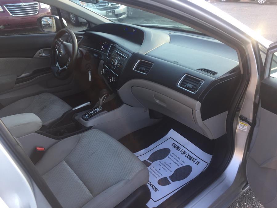2014 Honda Civic Sedan 4dr CVT LX, available for sale in Manchester, Connecticut   Best Auto Sales LLC. Manchester, Connecticut