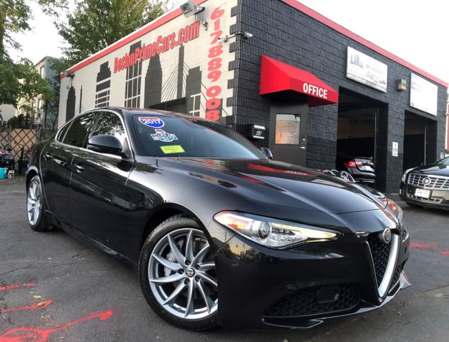 Used 2017 Alfa Romeo Giulia in Chelsea, Massachusetts | Boston Prime Cars Inc. Chelsea, Massachusetts