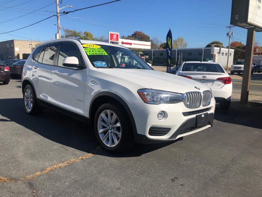 Used BMW X3 XDRIVE28I SPORTS ACTIVITY 2017 | Champion City Motors. Brockton, Massachusetts