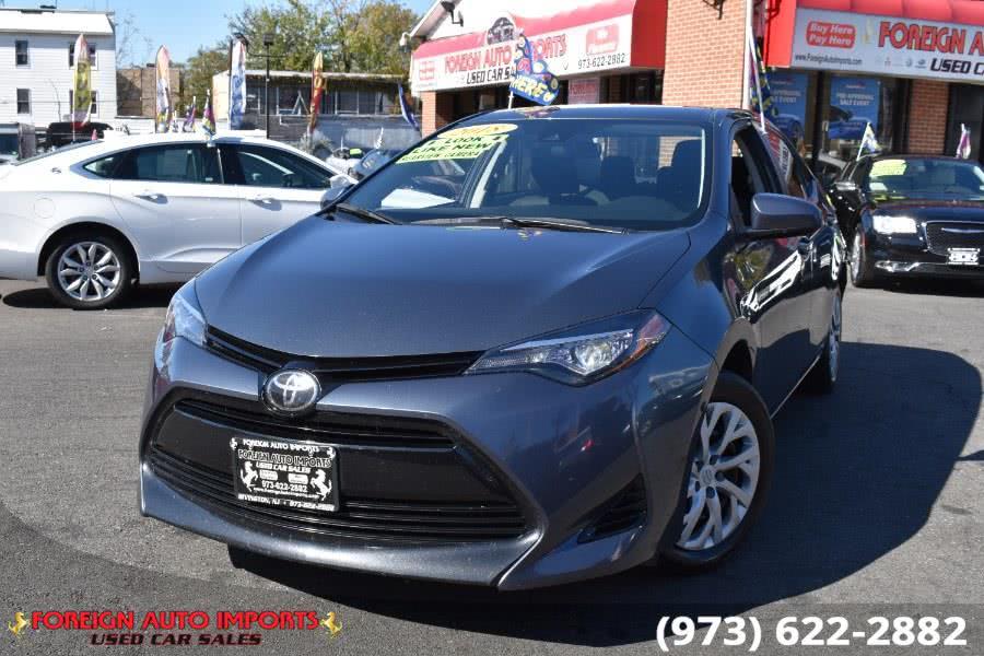 Used Toyota Corolla LE CVT (Natl) 2018 | Foreign Auto Imports. Irvington, New Jersey