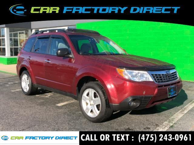 Used 2010 Subaru Forester in Milford, Connecticut | Car Factory Direct. Milford, Connecticut