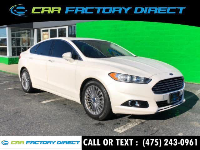 Used Ford Fusion Titanium Navigation 2013 | Car Factory Direct. Milford, Connecticut