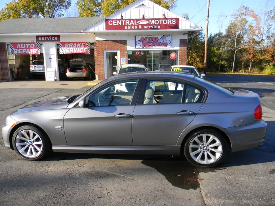 Used BMW 3 Series 4dr Sdn 328xi xDrive AWD 2011 | M&M Vehicles Inc dba Central Motors. Southborough, Massachusetts