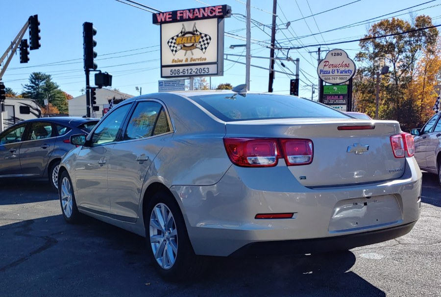 2015 Chevrolet Malibu 4dr Sdn LT w/2LT, available for sale in Worcester, Massachusetts | Rally Motor Sports. Worcester, Massachusetts
