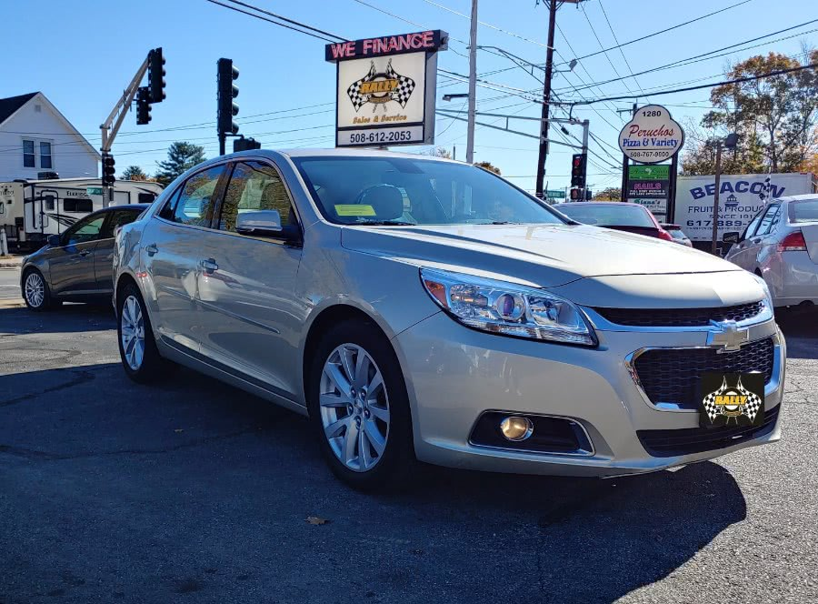 Used Chevrolet Malibu 4dr Sdn LT w/2LT 2015 | Rally Motor Sports. Worcester, Massachusetts