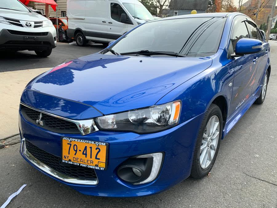 Used Mitsubishi Lancer 4dr Sdn CVT ES FWD 2016 | JC Lopez Auto Sales Corp. Port Chester, New York