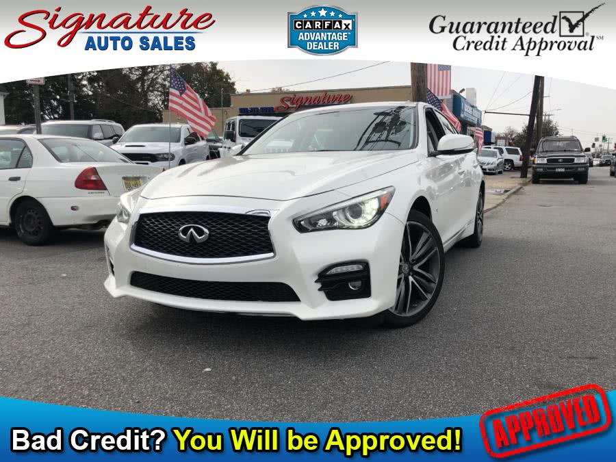 Used 2015 INFINITI Q50 in Franklin Square, New York | Signature Auto Sales. Franklin Square, New York
