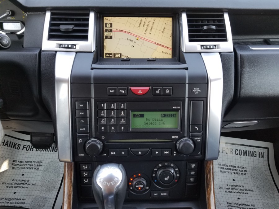 2009 Land Rover Range Rover Sport 4WD HSE w/Leather,Navigation,Reverse Sensing, available for sale in Queens, NY