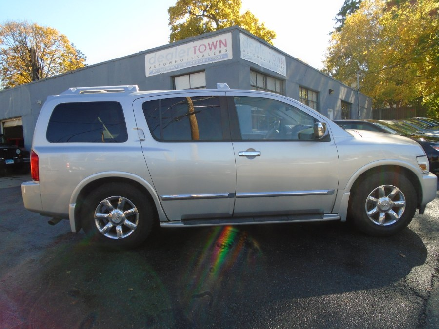 2007 INFINITI QX56 4dr 2WD, available for sale in Milford, Connecticut | Dealertown Auto Wholesalers. Milford, Connecticut