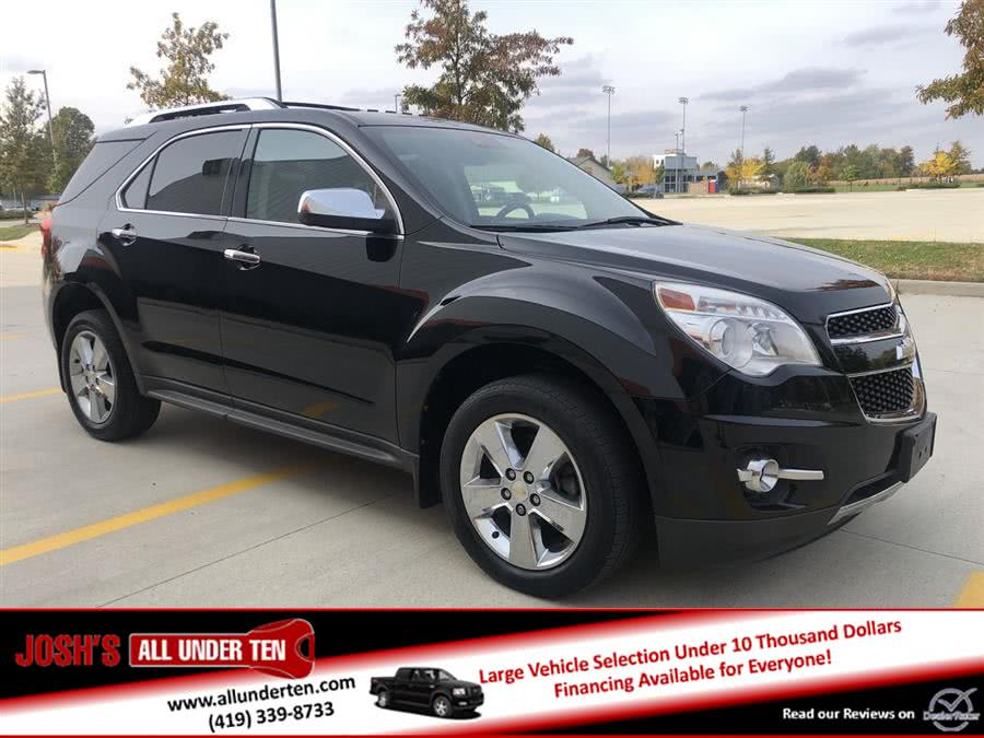 2012 Chevrolet Equinox FWD 4dr LTZ, available for sale in Elida, Ohio | Josh's All Under Ten LLC. Elida, Ohio