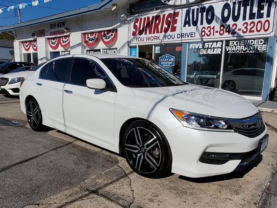 Used 2017 Honda Accord Sedan in Amityville, New York | Sunrise Auto Outlet. Amityville, New York