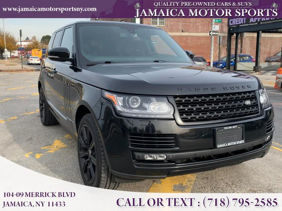 Used 2015 Land Rover Range Rover in Jamaica, New York   Jamaica Motor Sports . Jamaica, New York