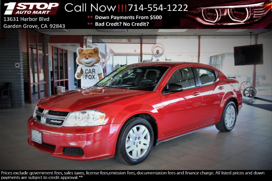 Used 2013 Dodge Avenger in Garden Grove, California | 1 Stop Auto Mart Inc.. Garden Grove, California