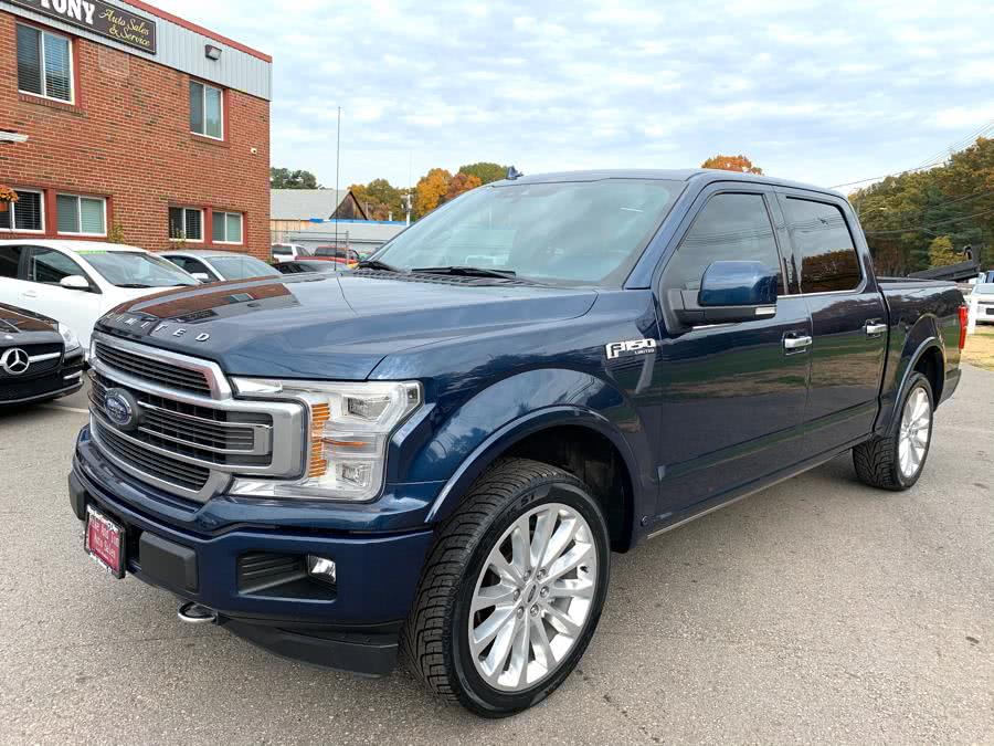 Used Ford F-150 Limited 4WD SuperCrew 5.5'' Box 2018 | Mike And Tony Auto Sales, Inc. South Windsor, Connecticut