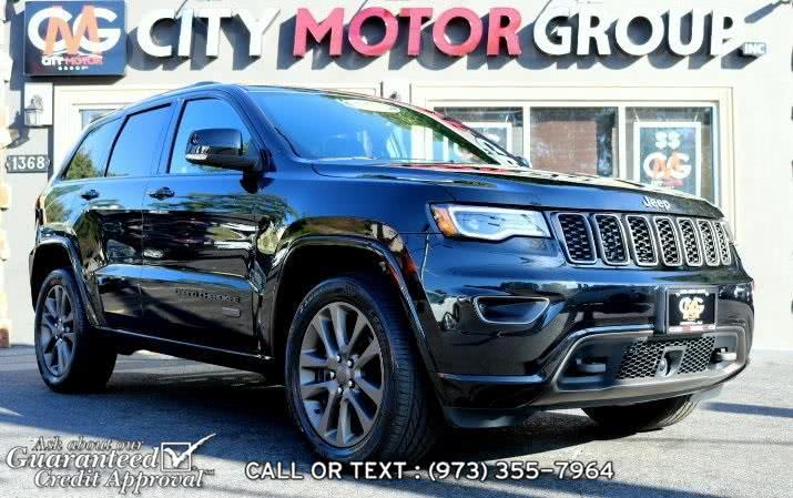 Used Jeep Grand Cherokee Limited 75th Anniversary Edition 2016 | City Motor Group Inc.. Haskell, New Jersey