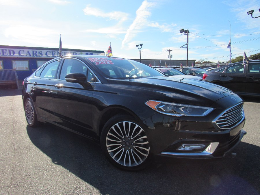 2018 Ford Fusion Titanium AWD, available for sale in Irvington, New Jersey | NJ Used Cars Center. Irvington, New Jersey