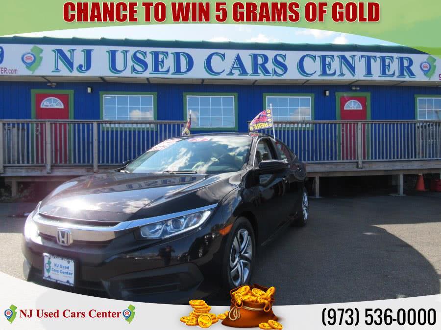 Used 2016 Honda Civic Sedan in Irvington, New Jersey   NJ Used Cars Center. Irvington, New Jersey