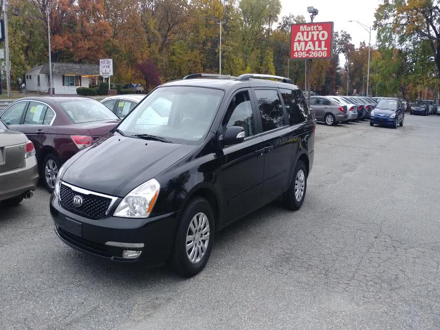 Used 2014 Kia Sedona in Chicopee, Massachusetts | Matts Auto Mall LLC. Chicopee, Massachusetts