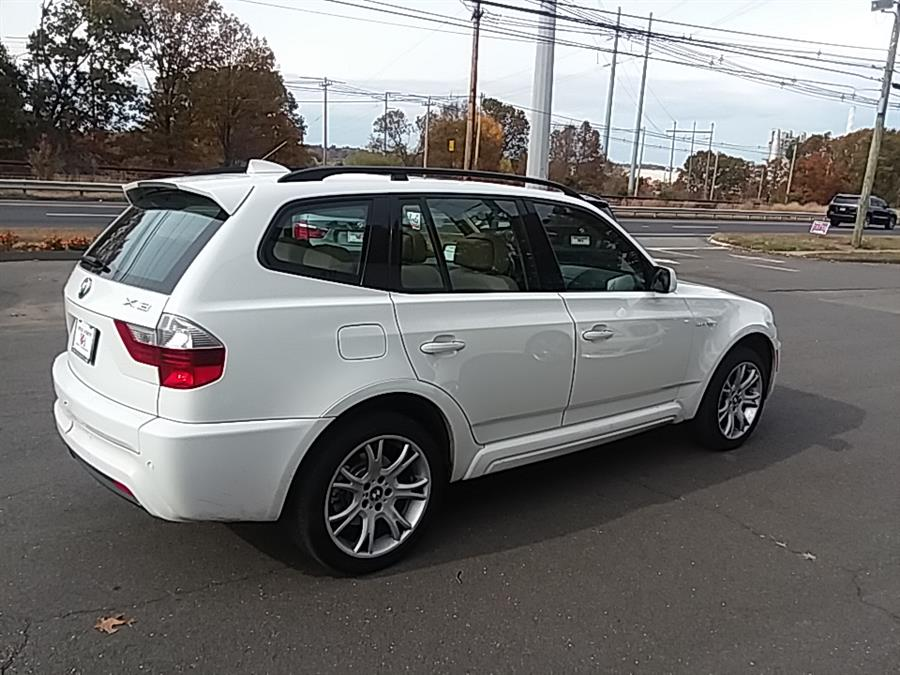 2008 BMW X3 AWD 4dr 3.0si, available for sale in Wallingford, Connecticut | Vertucci Automotive Inc. Wallingford, Connecticut