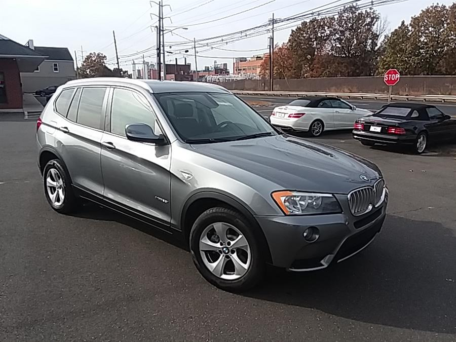 2011 BMW X3 AWD 4dr 28i, available for sale in Wallingford, Connecticut | Vertucci Automotive Inc. Wallingford, Connecticut