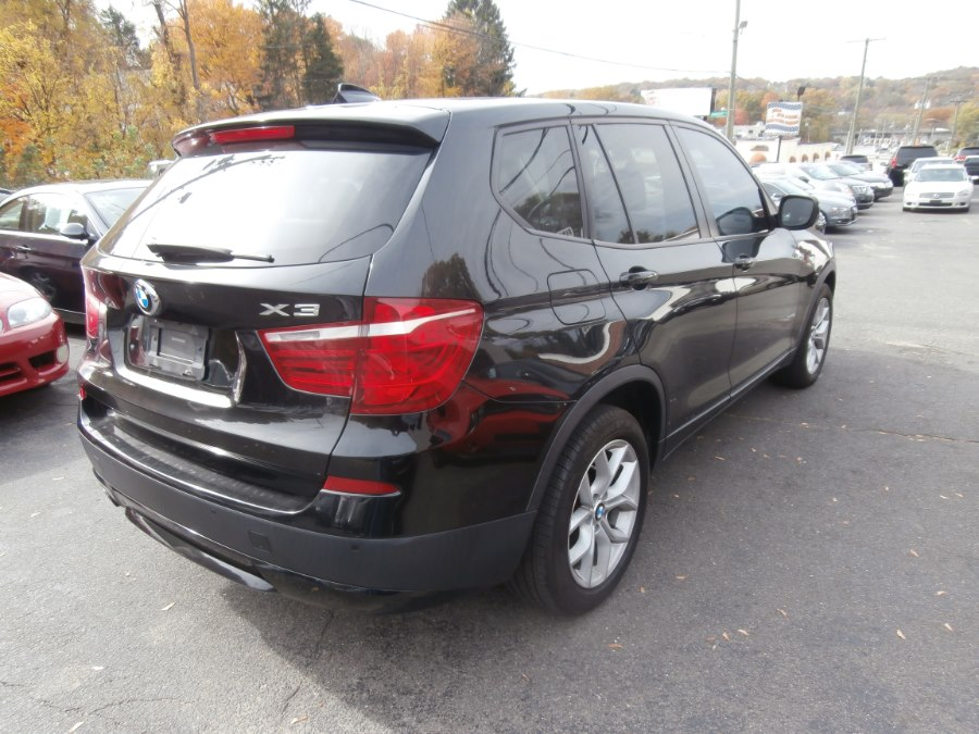 2013 BMW X3 AWD 4dr 35i, available for sale in Waterbury, Connecticut | Jim Juliani Motors. Waterbury, Connecticut
