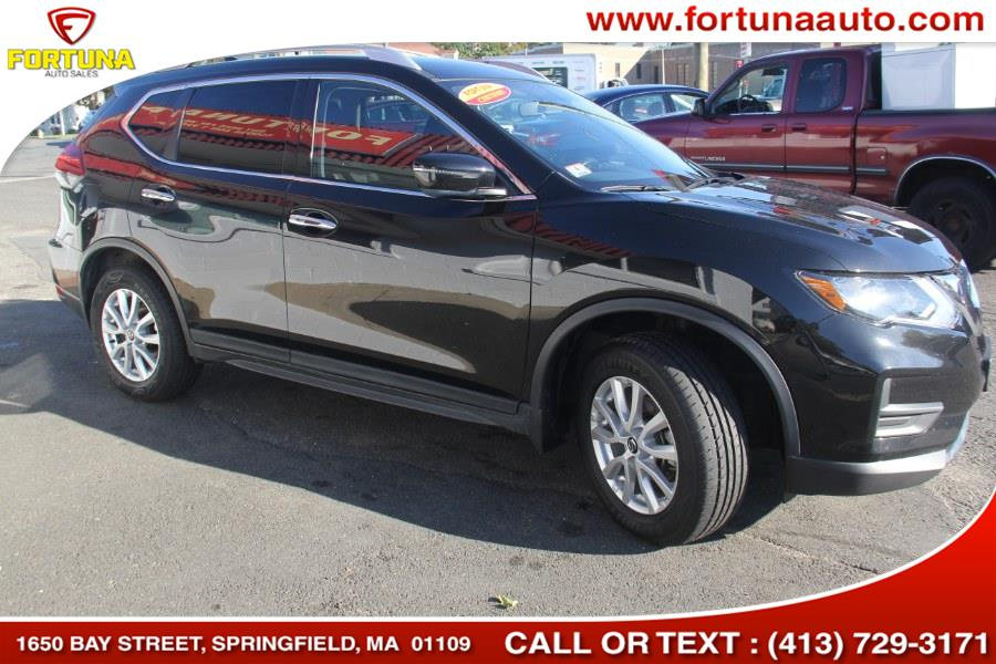 2018 Nissan Rogue AWD SV, available for sale in Springfield, Massachusetts   Fortuna Auto Sales Inc.. Springfield, Massachusetts