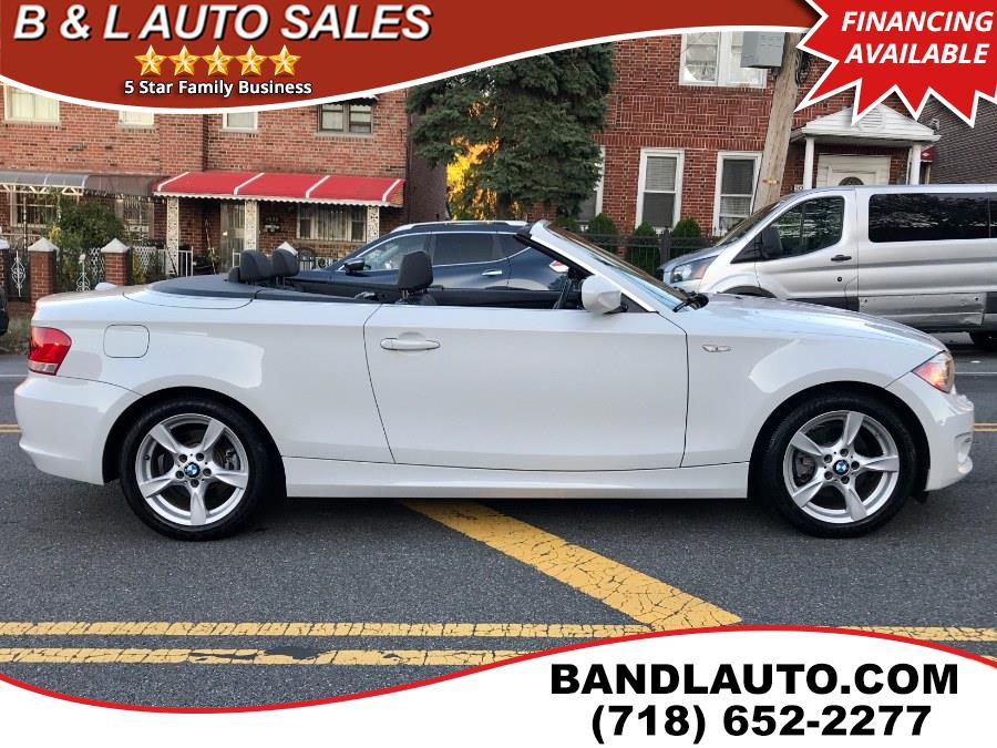 2013 BMW 1 Series 2dr Conv 128i, available for sale in Bronx, New York | B & L Auto Sales LLC. Bronx, New York