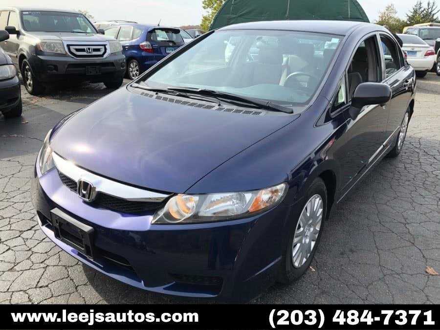 Used Honda Civic Sdn 4dr Auto DX-VP 2011 | LeeJ's Auto Sales & Service. North Branford, Connecticut