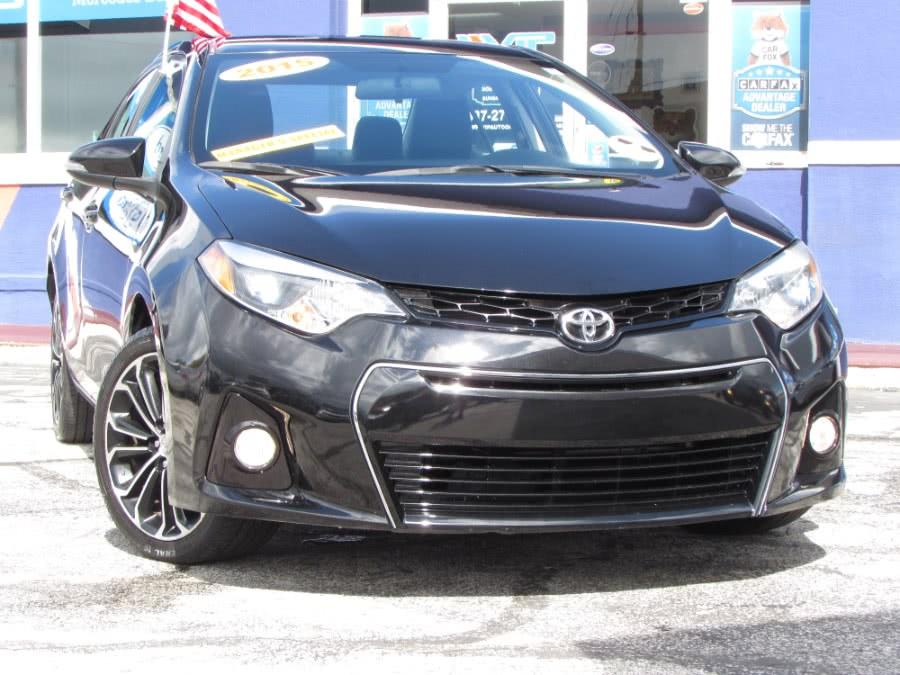 Used Toyota Corolla 4dr Sdn CVT S (Natl) 2015 | VIP Auto Enterprise, Inc. Orlando, Florida